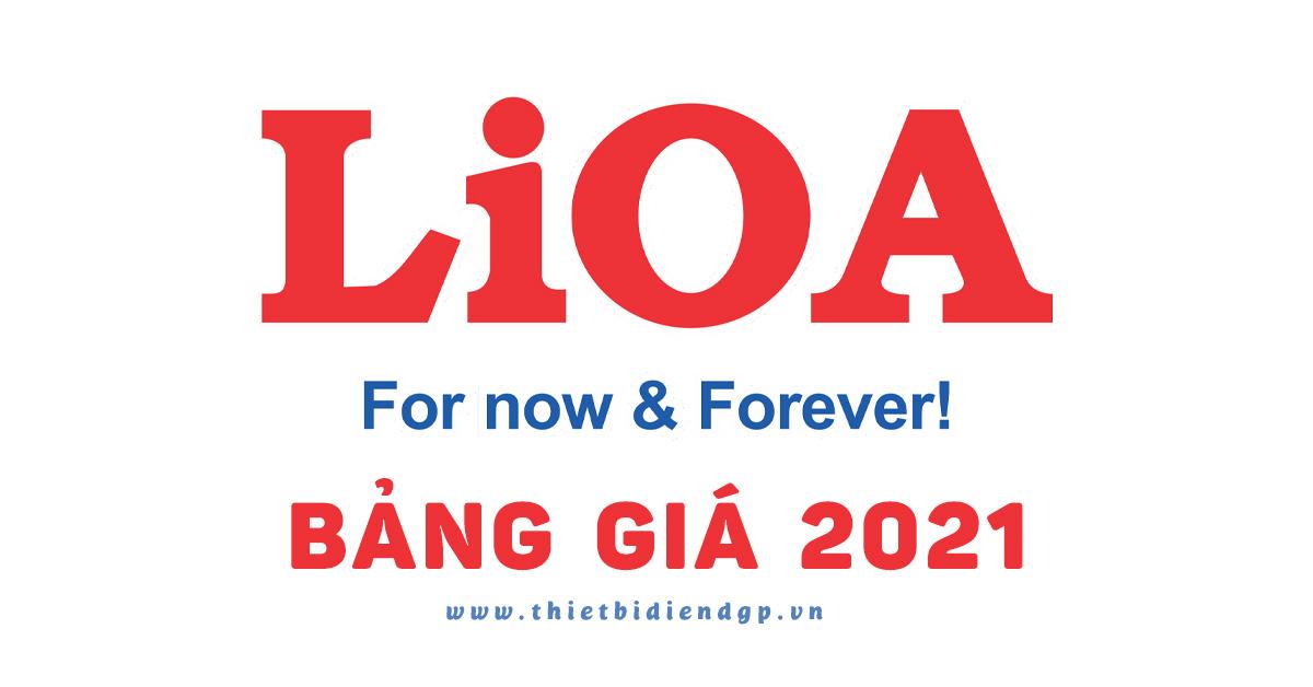 Bảng Giá LiOA tháng 5 2021