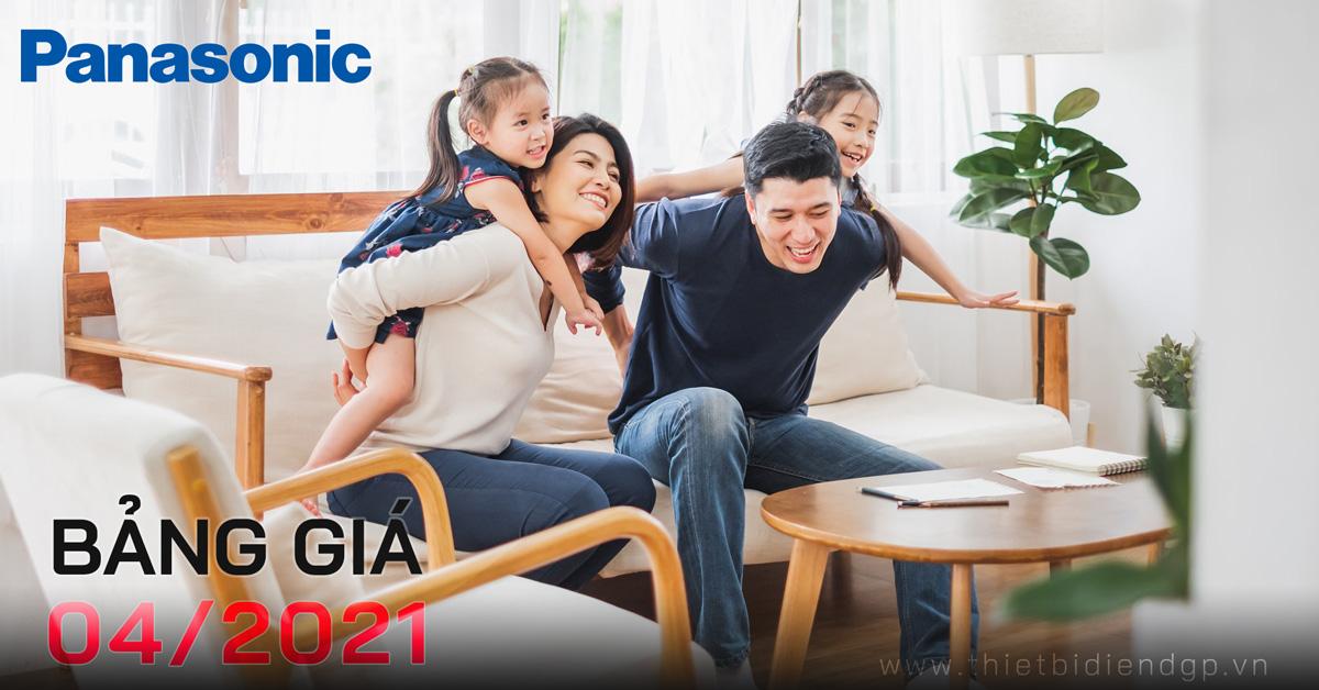 Catalogue Bảng giá Panasonic/Nanoco Tháng 04/2021
