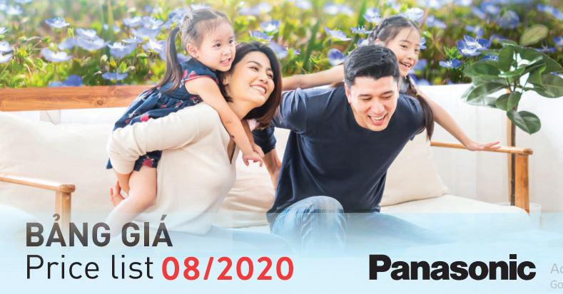 Catalogue Bảng giá Panasonic/Nanoco Tháng 08/2020