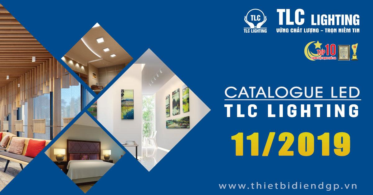 Bảng giá Catalogue Đèn TLC 2019 mới nhất
