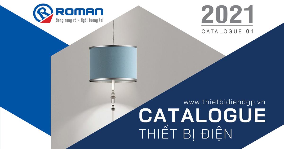 Catalogue thiết bị điện ROMAN T03/2021