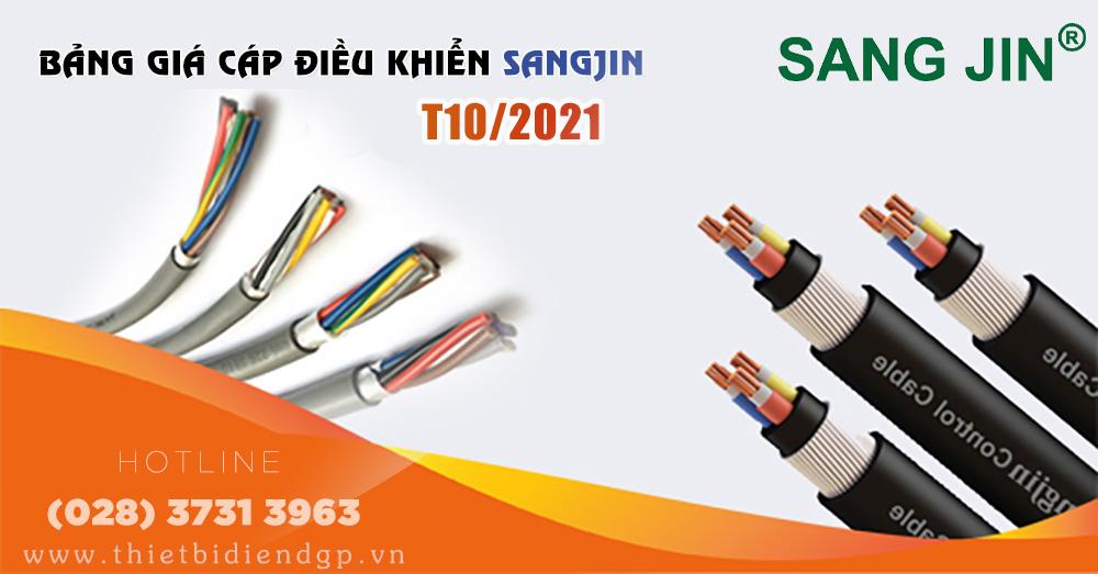 Bảng Giá Dây Điện SANGJIN 2021 (Tháng 10)