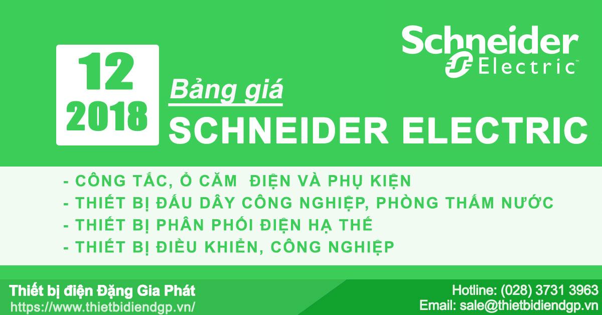 Bảng giá Schneider mới nhất tháng 6 2019