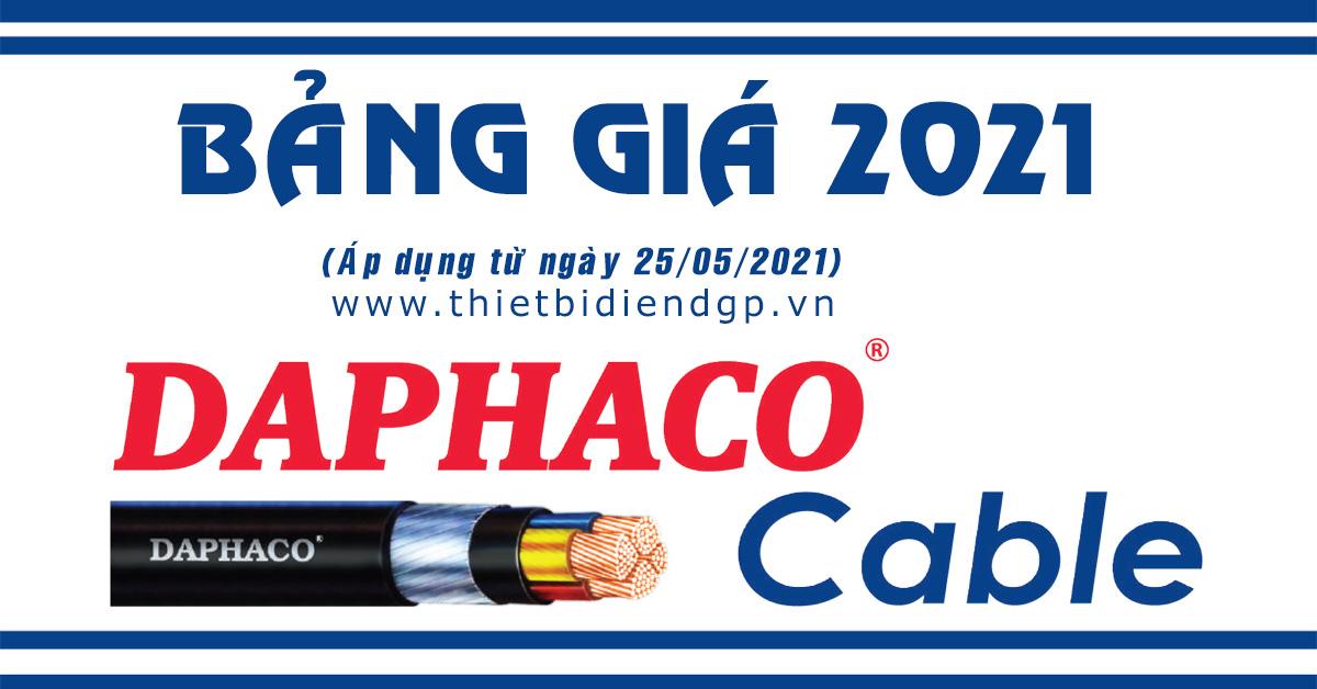 Bảng Giá DAPHACO 2021