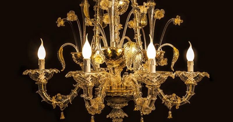 Phân loại các loại đèn chùm đồng trang trí