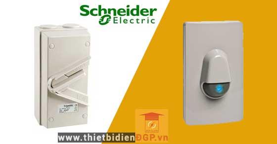 Thiết bị phòng thấm nước isolator của Schneider Electric