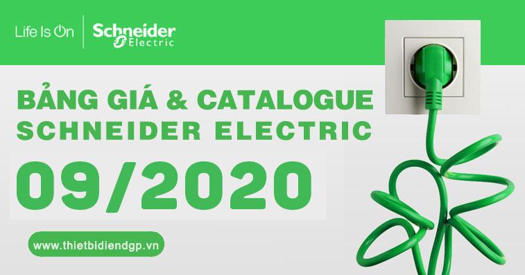 Bảng giá Schneider (09/2020)
