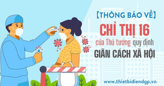 【THÔNG BÁO】Lịch Hoạt Động CTY Theo Chỉ Thị 16 Tại TP.HCM