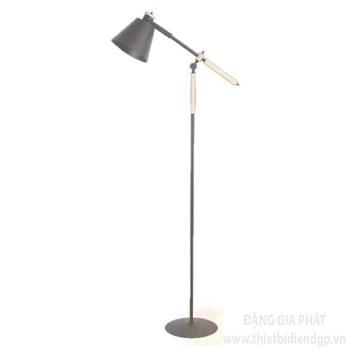 Đèn bàn Hufa Ø130*W600*H1500, E27*1, Vỏ màu đen, loại cao ĐB 1026 ĐEN