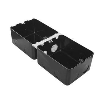 Đế âm kim loại, 8 module (2×4) – 054003 0 540 03