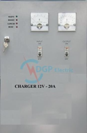 CHARGER 1 PHASE 12V-20A 1P12V20A