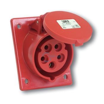 Ổ cắm gắn âm loại không kín nước dạng nghiêng IP44 16A/ 32A F41X-6