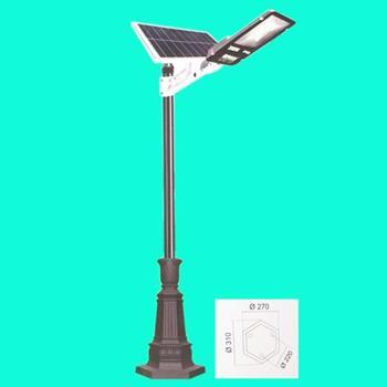 Đèn trụ sân vườn năng lượng mặt trời - SOLAR TRU 091 - LED 100w SOLAR TRU 091