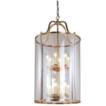 Đèn thả trần phòng khách bằng đồng đơn giản Venus 100036-12B 12 Bóng 100036-12B 12 Bóng