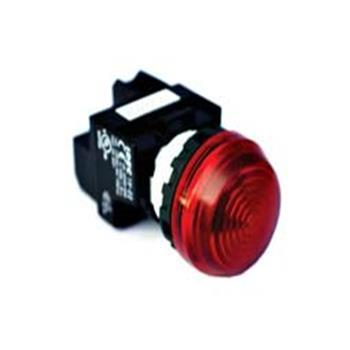 Đèn báo phẳng, bóng Led, 220VAC/DC, Ø22, Đỏ YW1P-1EQM3R