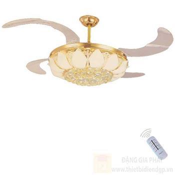 Đèn quạt Hufa Ø500*H580, Cánh Quạt 1100, Led 72W, 3 chế độ ánh sáng ĐQ 1789