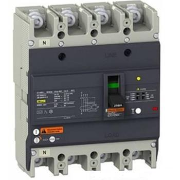 Thiết bị đóng cắt EZC250 4P 63A type H,lcu=36ka 415 VAC EZC250H4250
