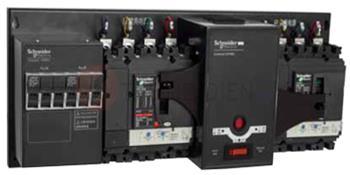 Bộ tự động chuyển đổi nguồn ATS, loại 1 nguồn lưới & 1 nguồn máy phát, 3P 400A 50kA LV432630ATNSX22A