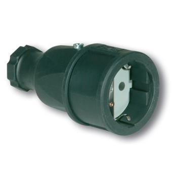 Ổ cắm nối bằng nhựa không kín nước 2P - 16A - 250V - IP20 F2510-S