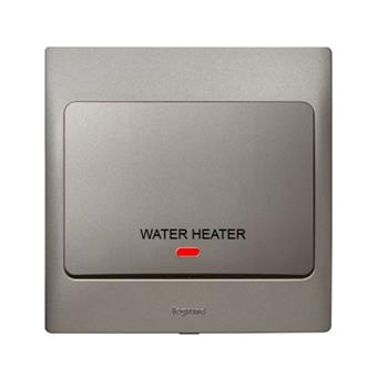 Công tắc máy nước nóng Mallia – xám bạc – 283462 283462