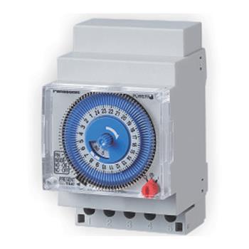 Công tắc đồng hồ loại Din module- gắn thanh Din, 220-240VAC, 50/60Hz, 16A TB5560187N
