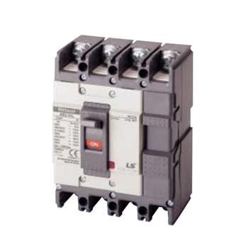 Thiết bị đóng cắt MCCB 4P 100A 37KA chỉnh dòng (0.7,0.85,1) x In max ABS204c FMU