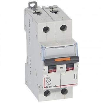Thiết bị đóng cắt MCB DX3 2P 25KA (C2-C125) 409765-409777