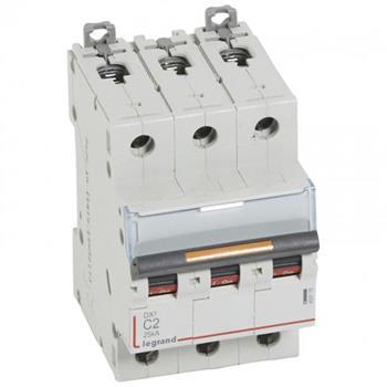 Thiết bị đóng cắt MCB DX3 3P 25KA (C2-C125) 409778-409790