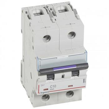 Thiết bị đóng cắt MCB DX3 2P 50KA (C10-C63) 410147-410154