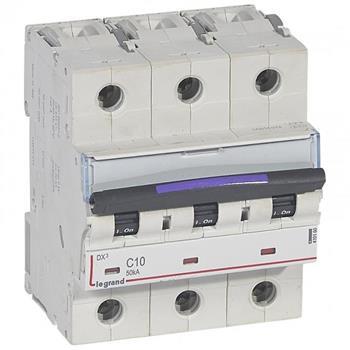 Thiết bị đóng cắt MCB DX3 3P 50KA (C10-C63) 410160-4410167