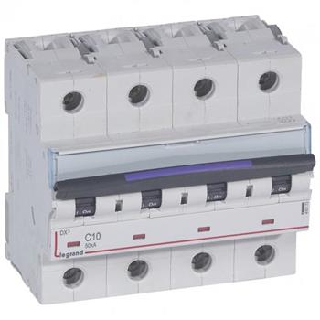 Thiết bị đóng cắt MCB DX3 4P 50KA (C10-C63) 410173-410180