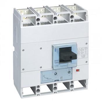 Thiết bị đóng cắt MCCB DPX3 4P - DPX3 1600 - MT 4P 50KA 422268-422271