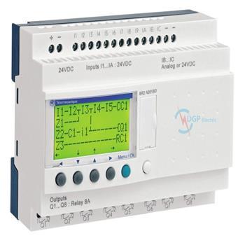 Zelio Logic - Smart Relays Modular - With Display SR2A101FU