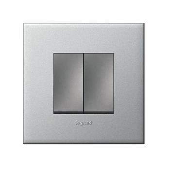 Mặt che nhựa màu ngọc trai Arteor – 2 module – 575211 5 752 11