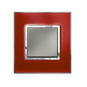 Mặt che kính đỏ Arteor – 2 module – 576126 5 761 26