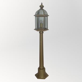 Đèn trụ cao soi sân vườn Đồng cổ điển Venus 500166-01B 500166-01B