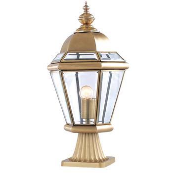 Đèn trụ cổng hàng rào Đồng tròn hiện đại Venus 500183-01B 500183-01B