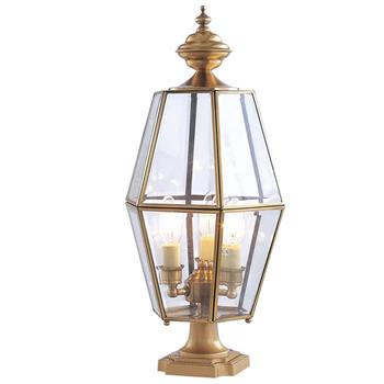 Đèn trụ cổng hàng rào Đồng khung kim cương Venus 500184-03 500184-03