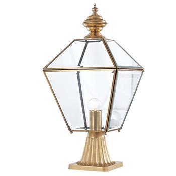 Đèn trụ cổng hàng rào Đồng đơn giản Venus 500185-01 500185-01