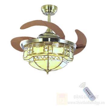 Đèn quạt Hufa Ø420*H580, Cánh Quạt 1100, Led 30W, 3 chế độ ánh sáng ĐQĐ 5313