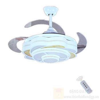 Đèn quạt Hufa Ø420*H580, Cánh Quạt 1100, Led 30W, 3 chế độ ánh sáng ĐQ 7525