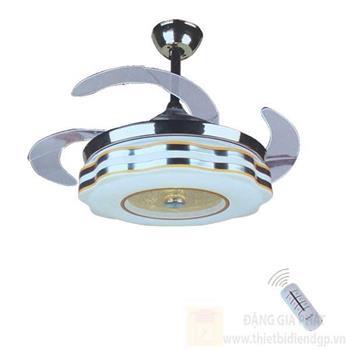 Đèn quạt Hufa Ø480*H580, Cánh Quạt 1100, Led 30W, 3 chế độ ánh sáng ĐQ 8075
