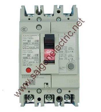 Thiết bị đóng cắt chống rò điện ELCB 3P chỉnh dòng 200~400A 70kA 100/200/500mA NV400-HEW 3P 400A 70kA 1.2.500mA