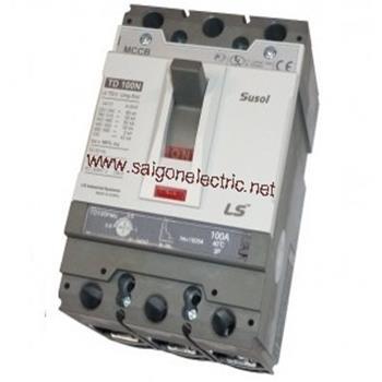 Thiết bị đóng cắt chống rò điện MCCB 3P 630A-> 65KA ETS: E. trip units: chỉnh 13 bước từ 0.4->1 x ln TS800N ETS43 3P