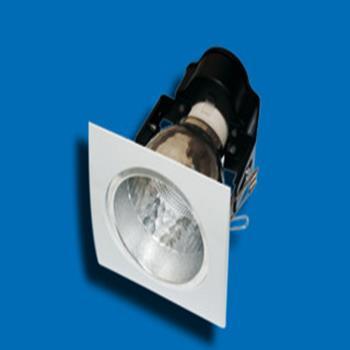 """Bộ đèn downlight gắn âm vuông 1 x E27, 3.5"""" PRDO85E27"""