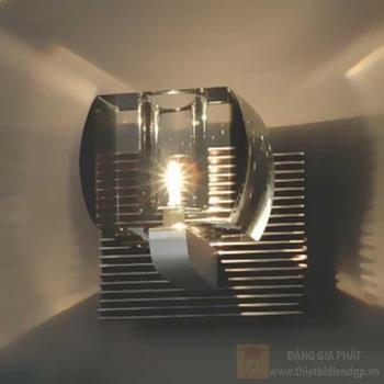 Đèn vách led 1*3W, size: W11*H10.5cm, có bóng LED 94028B/1