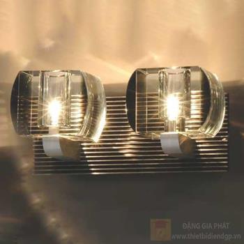 Đèn vách led 2*3W, size: W22*H10.5cm, có bóng LED 94028B/2