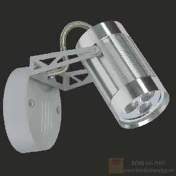 Đèn chiếu điểm vỏ trắng led 3W, size: H13cm 95050/W