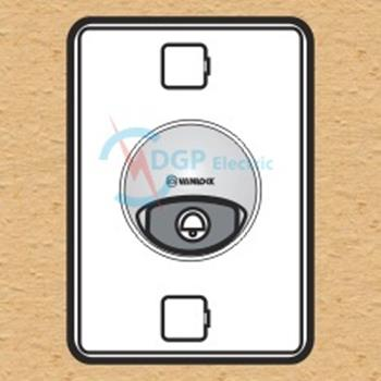 Nút chuông chống thấm có đèn báo loại dọc WBL/V