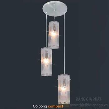 Đèn treo Ø10*H24cm, có bóng compact 96080/3